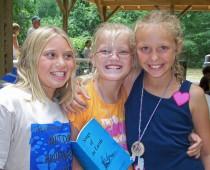 Three Smiling Girls