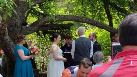 A wedding at Dahlem