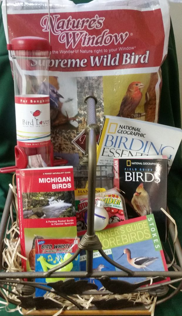 Place your bid for the All Birds Basket